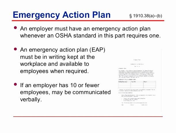 Osha Emergency Action Plan Template Fresh 12 Osha Emergency Response Plan Template Oeytt