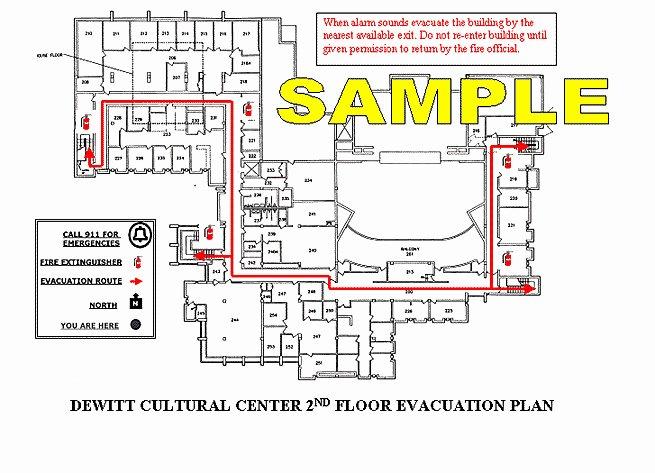 Osha Emergency Action Plan Template Fresh Evacuation Routes Osha Evacuation Plan Template