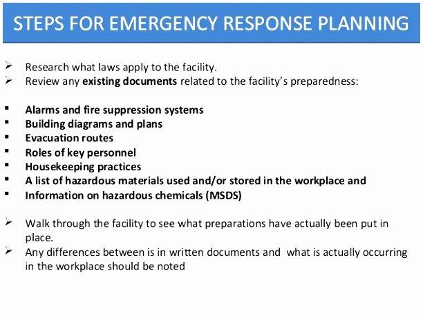 Osha Emergency Action Plan Template Lovely 12 Osha Emergency Response Plan Template Oeytt