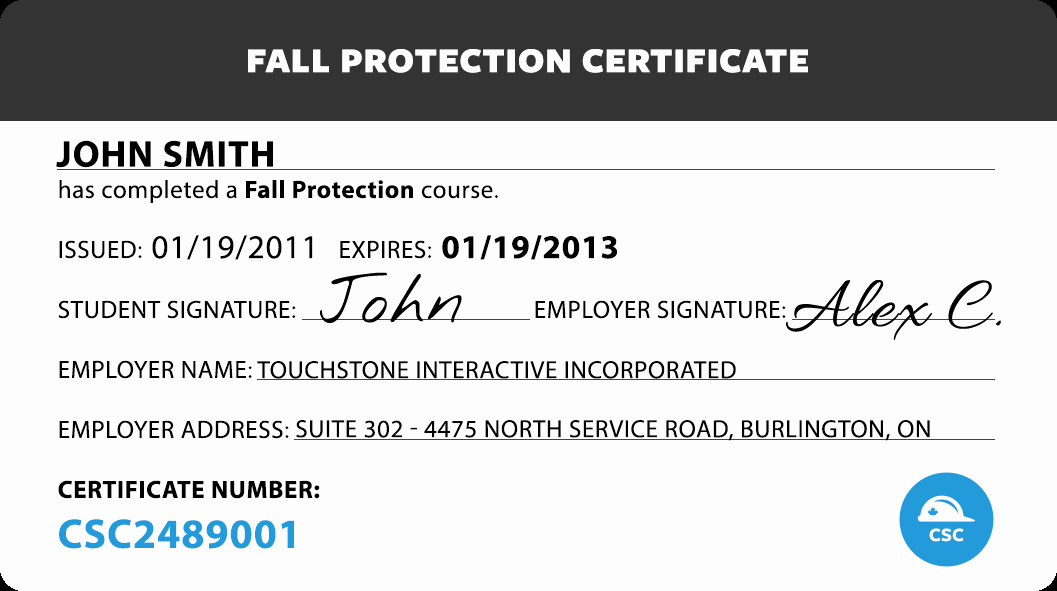 Osha Fall Protection Plan Template Inspirational Canada Safety Pliance Fall Protection