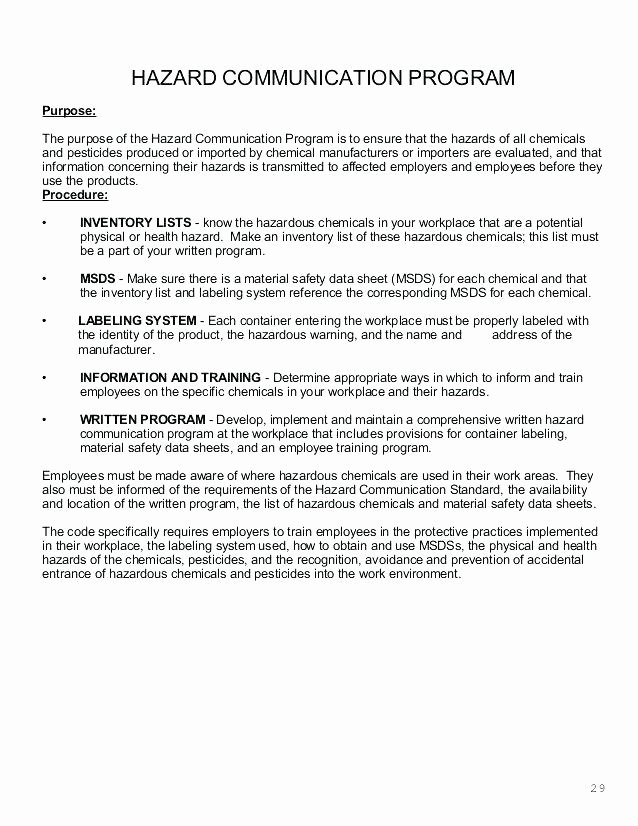Osha Fall Protection Plan Template Inspirational Osha Health and Safety Plan Template – Ensitefo