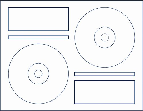 Otes Lesson Plan Template Awesome Printable Memorex Cd Labels Template – Free Template Design
