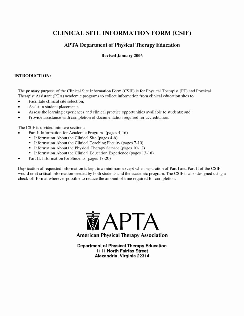 Pa School Letter Of Recommendation Unique Letter Re Mendation for Physical therapy School