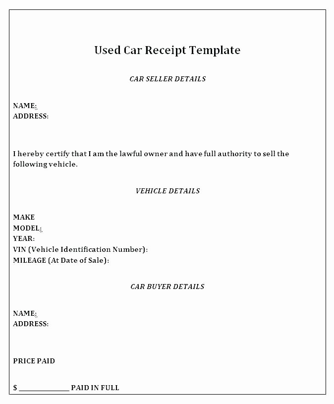 Paid In Full Receipt Awesome 14 15 Template for A Receipt Of Payment