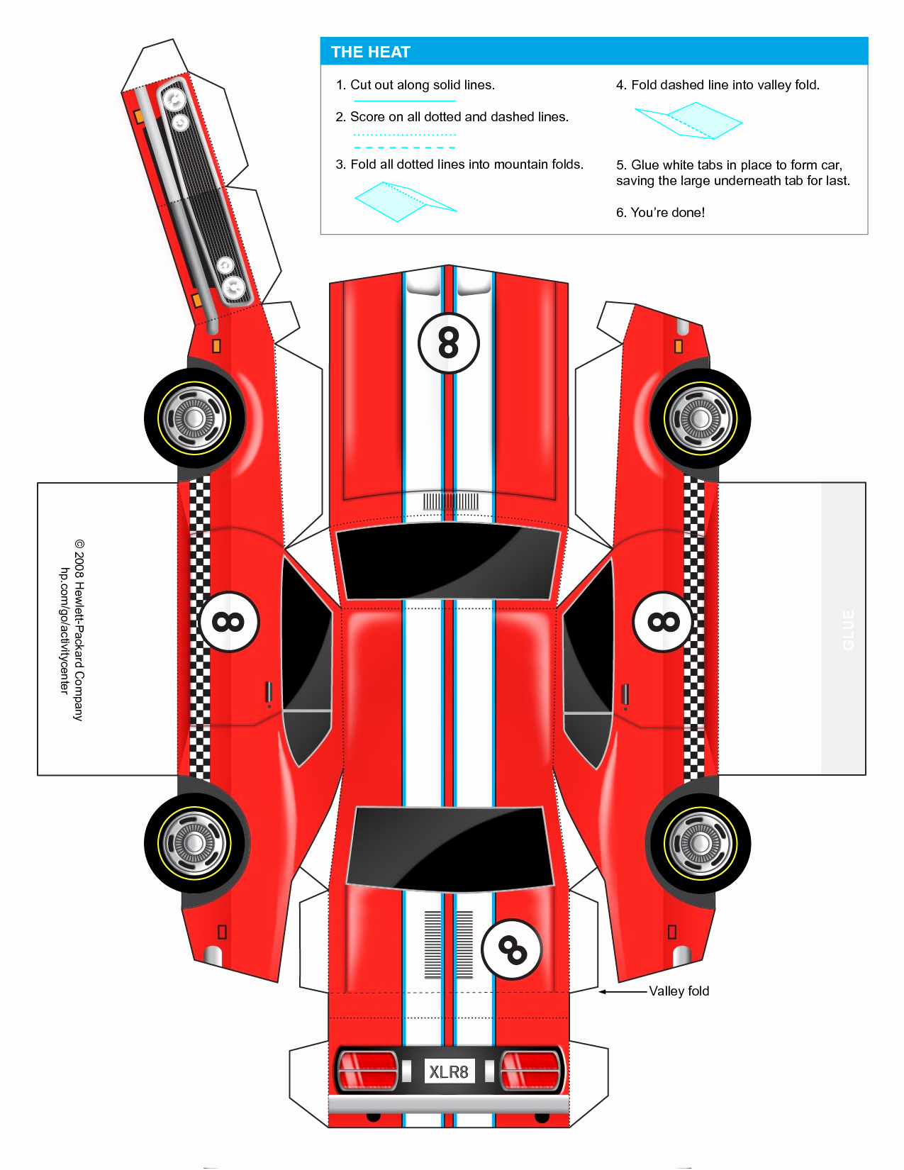 Paper Model Car Templates Best Of Car Cut Out Template for Kids Google Search