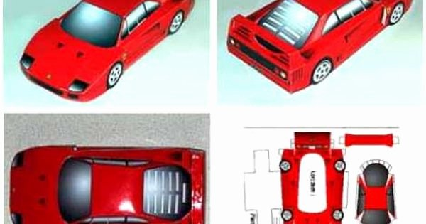 Paper Model Car Templates Fresh Craft Templates