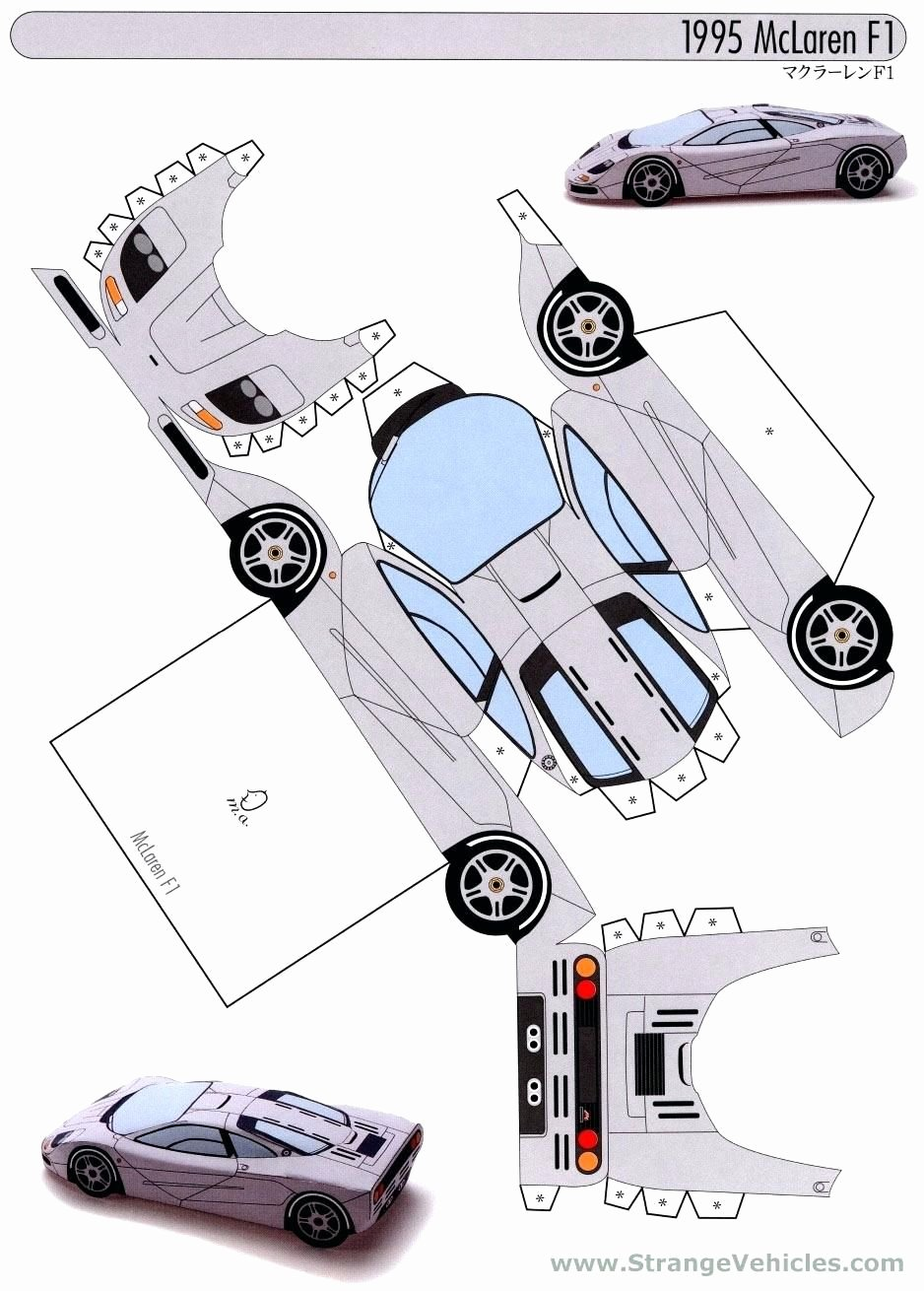 Paper Model Car Templates Lovely Image Result for Paper Model Car Templates Cars