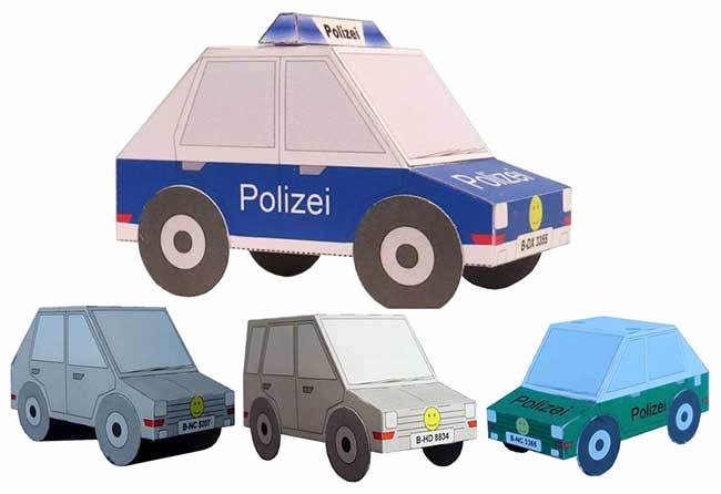 Paper Model Car Templates Lovely [new Paper Craft] Lots Of Simple Paper Cars for Kids Free