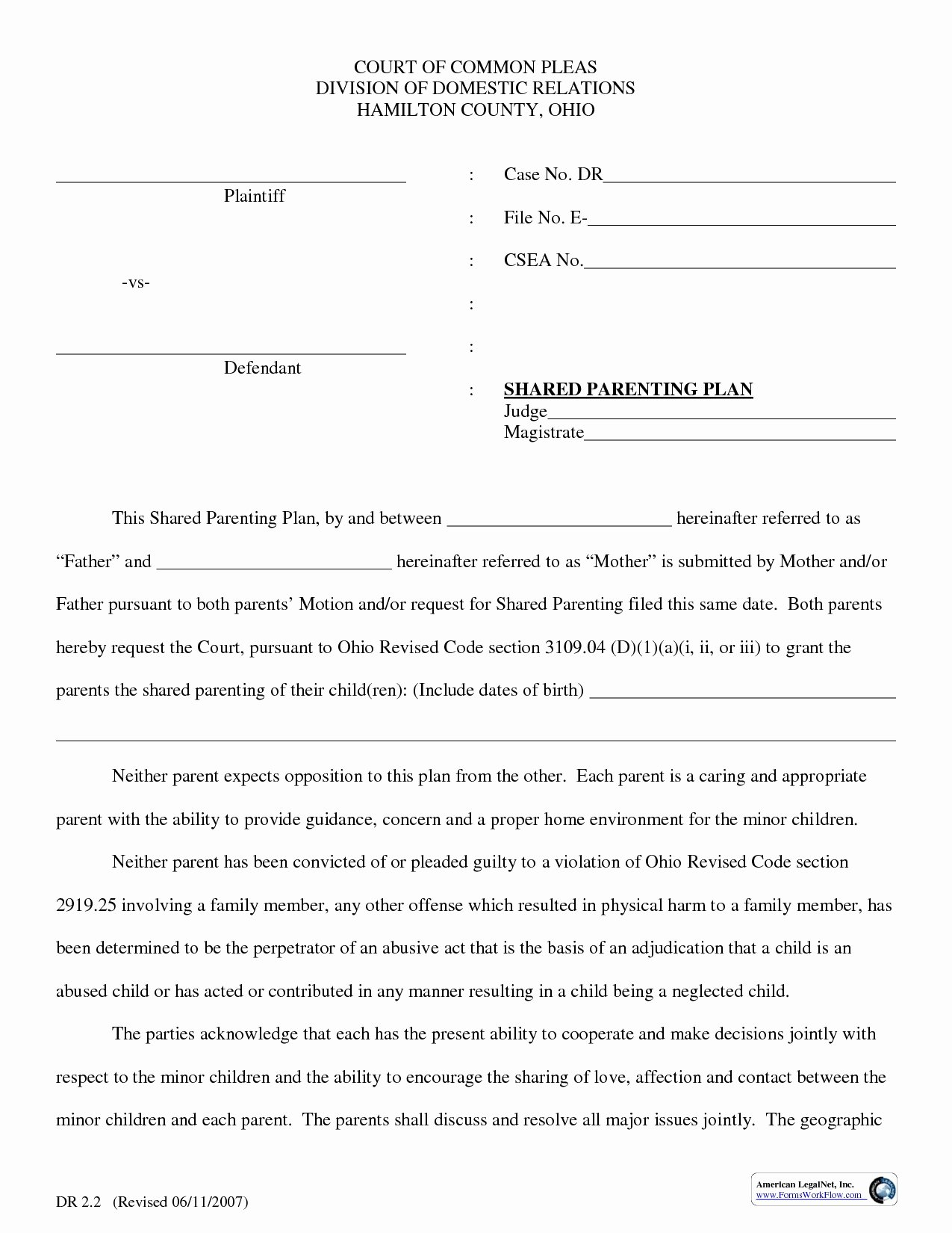 Parenting Plan California Template Best Of 50 Exclusive D Parenting Agreement Template Qe