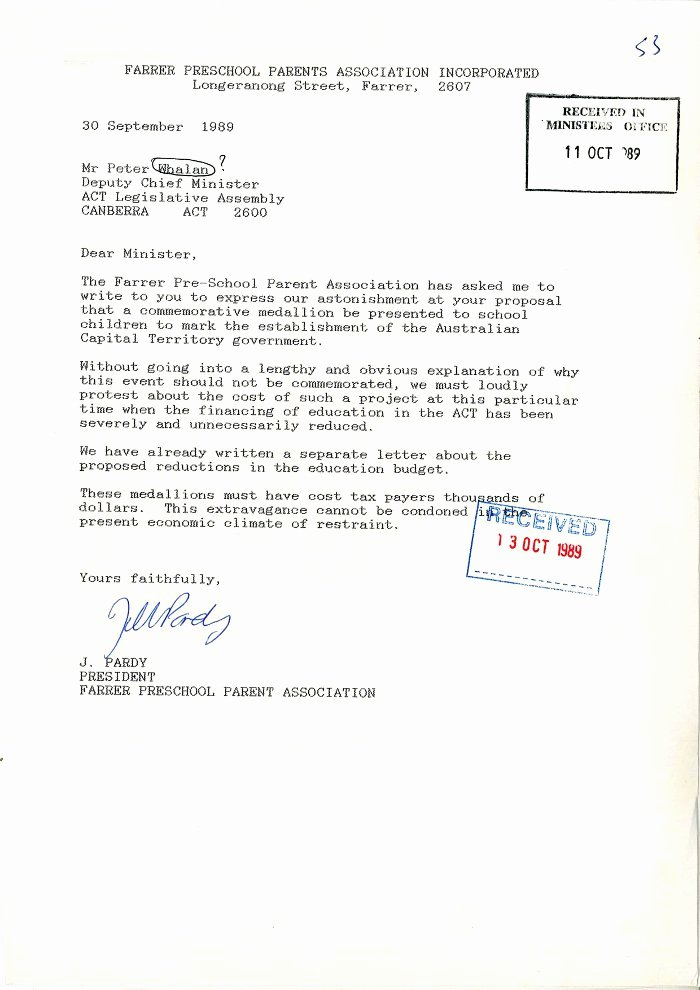 Parents Letter Of Recommendation Unique Previous Find Of the Month 5 2013 Archivesact