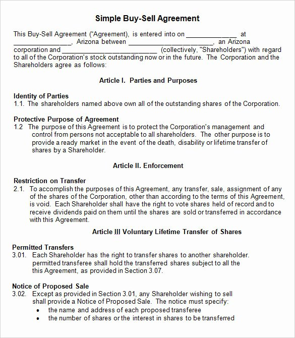 Partner Buyout Agreement Template Fresh 42 Agreement Templates Word Pdf