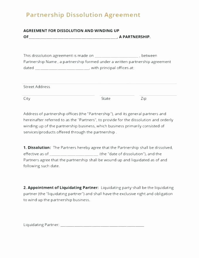 Partner Buyout Agreement Template Lovely Llc Contract Template
