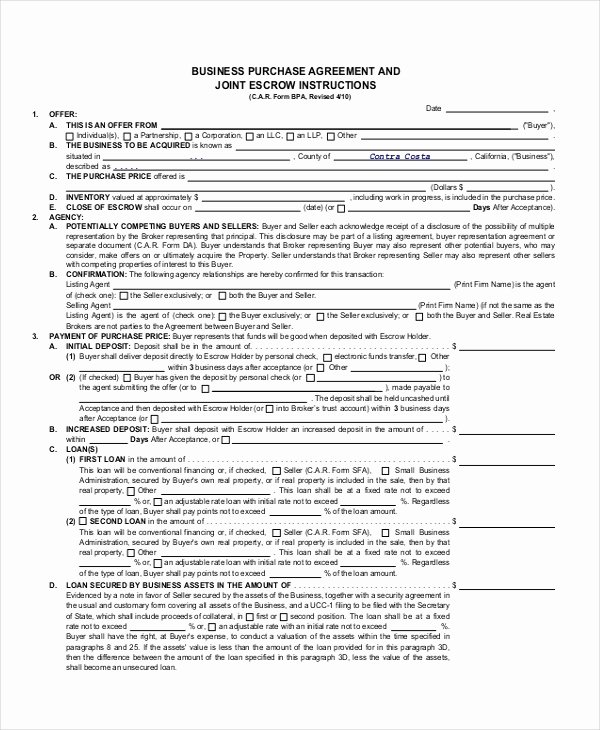 Partnership Buyout Agreement Best Of 43 Basic Agreement forms