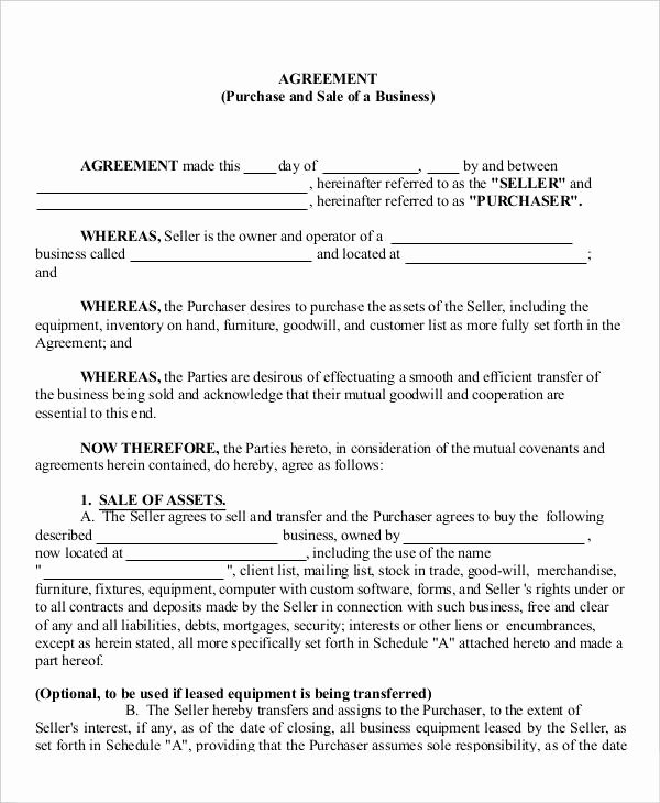 Partnership Buyout Agreement Luxury 13 Business Agreement Templates Word Pages
