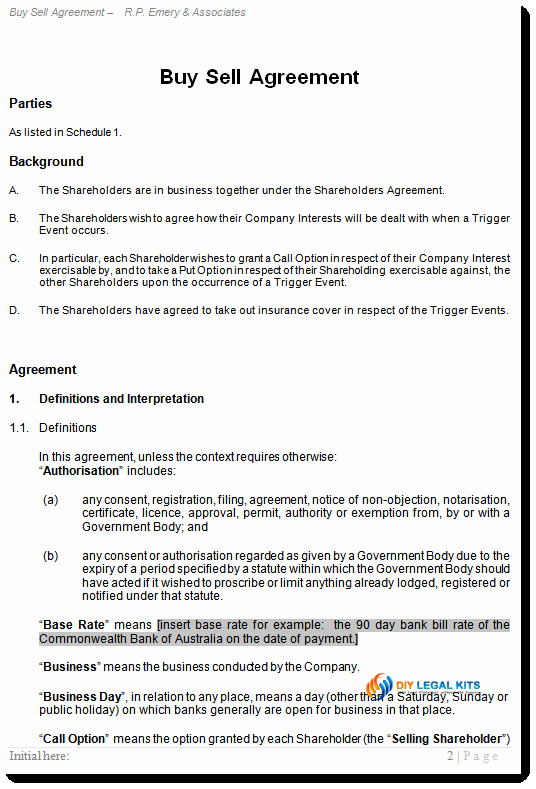 Partnership Buyout Agreement Template Awesome Holder Buy Sell Agreement Out Contract