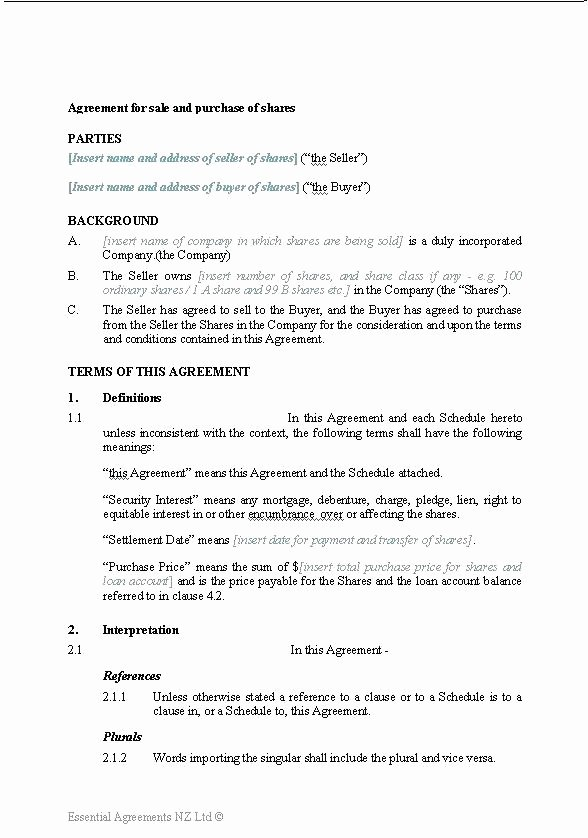 Partnership Buyout Agreement Template Best Of 9 Sample Purchase Agreement forms Example format Brochure