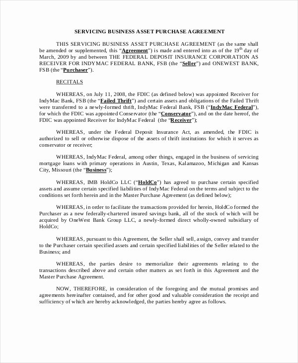 Partnership Buyout Agreement Template Best Of asset Purchase Agreement 11 Free Word Pdf Documents