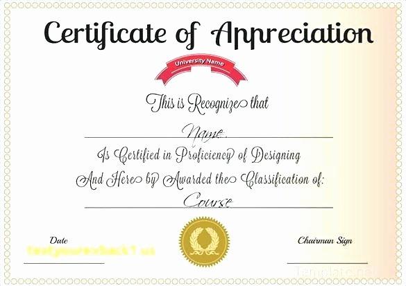 Pastor Appreciation Certificate Template Best Of Sample Certificate Appreciation Portray Enticing for