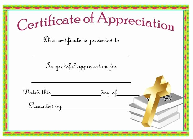 Pastor Appreciation Certificate Template Free Awesome thoughtful Pastor Appreciation Certificate Templates to