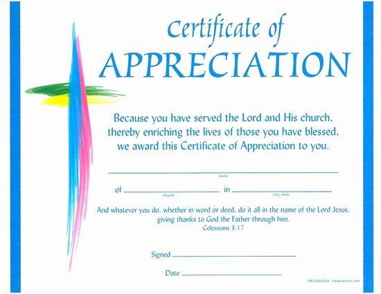 Pastor Appreciation Certificate Template Free Elegant Churches Of God General Conference Certificate Of