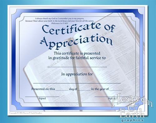 Pastor Appreciation Certificate Template Free Fresh 21 Best Pastor Appreciation Certificate Templates Images
