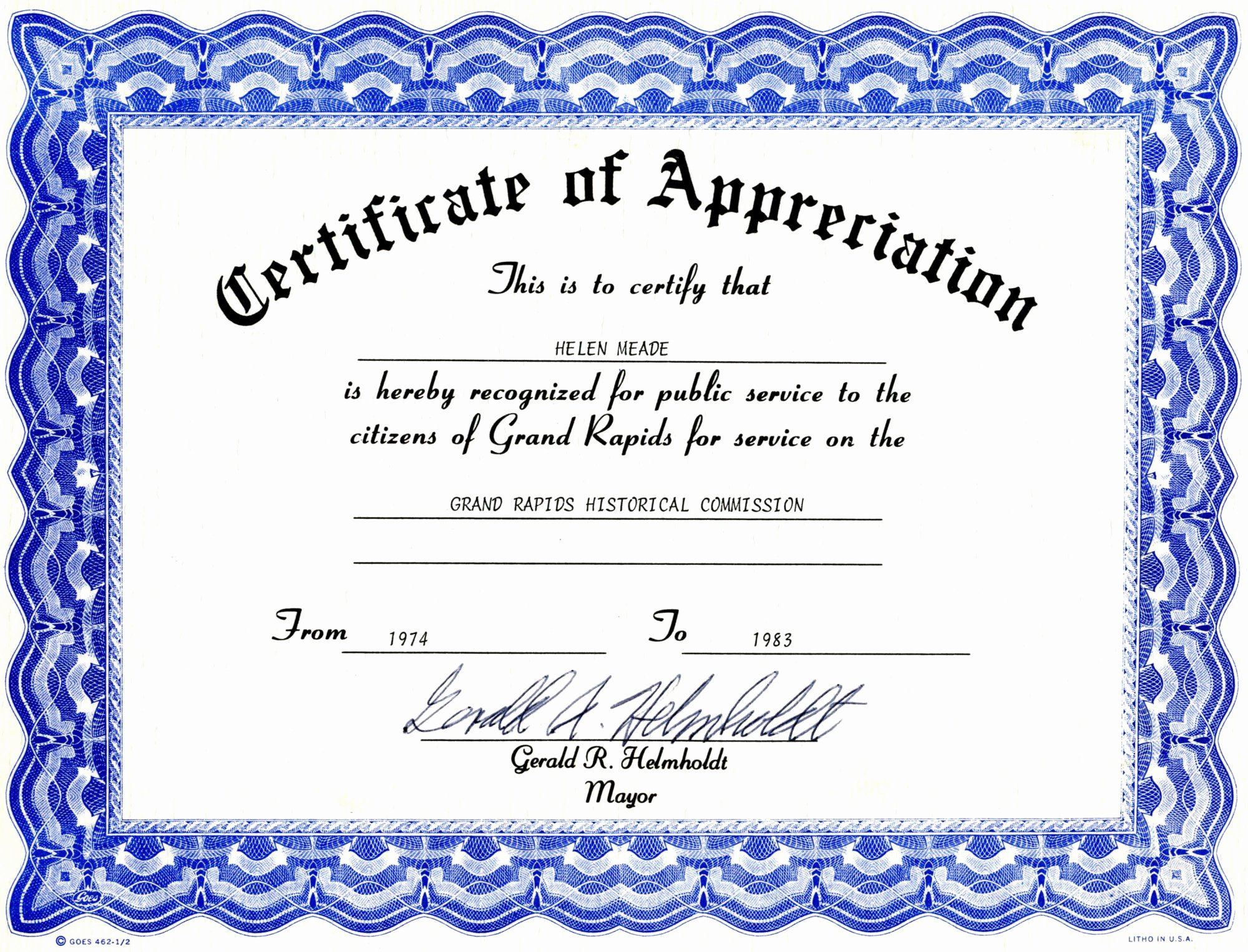 Pastor Appreciation Certificate Template Luxury Pastor Appreciaiton Program