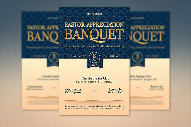 Pastor Appreciation Certificate Template New Pastor Appreciation Banquet Template Ki