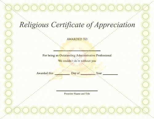 Pastor Appreciation Certificate Template Unique Download Free or Premium Version No Registrations