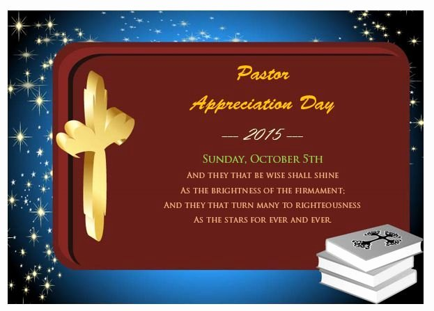 Pastor Appreciation Certificate Template Unique Pastor Appreciation Day Certificate