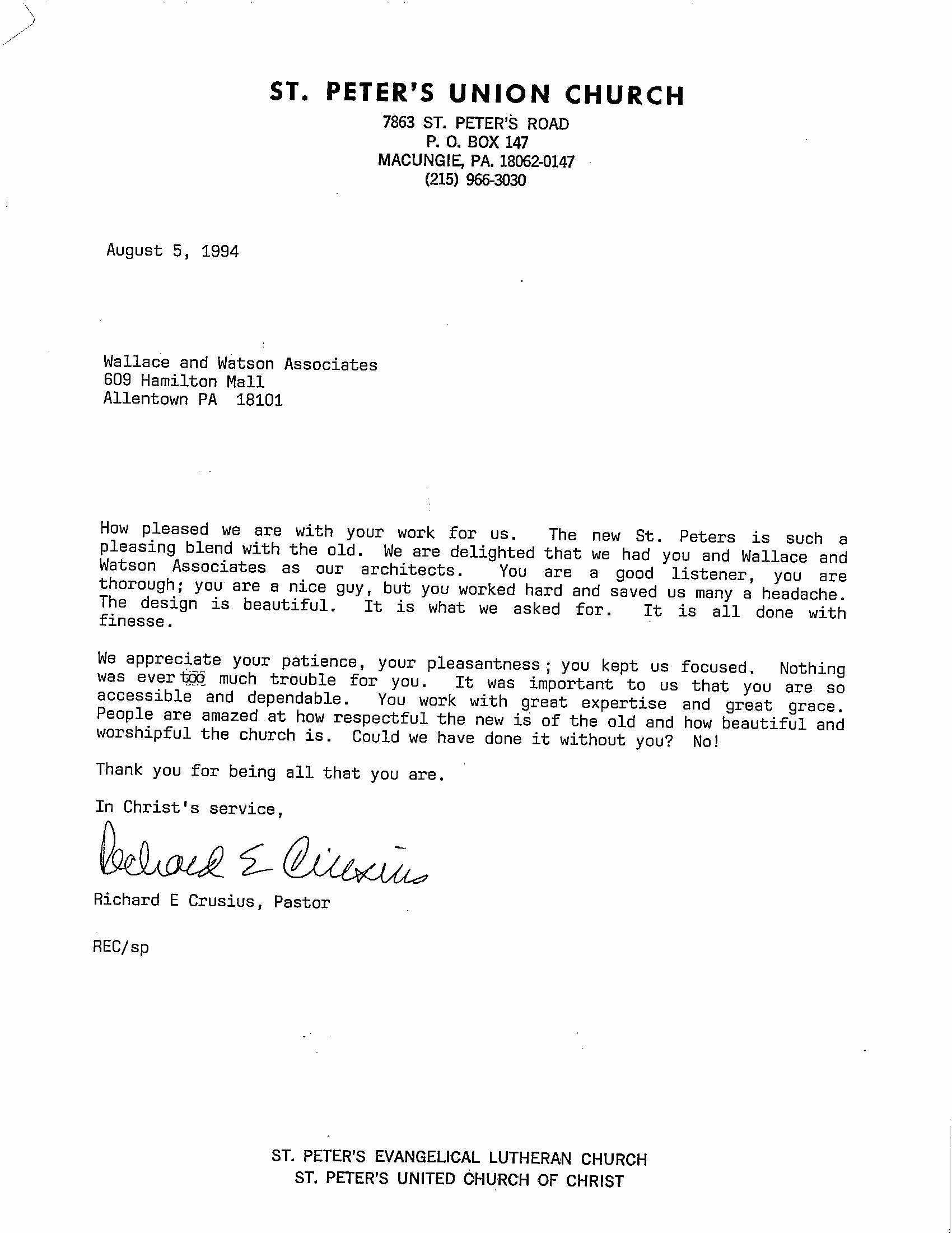 Pastor Letter Of Recommendation Beautiful Pastor Re Mendation Letter