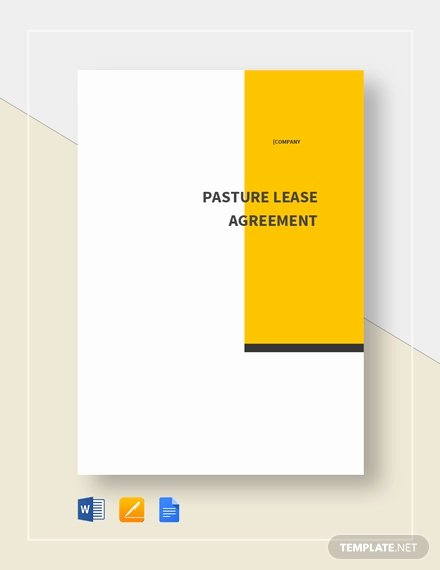 Pasture Lease Agreement Template Fresh Agreement Between Two Parties for Money Template Download