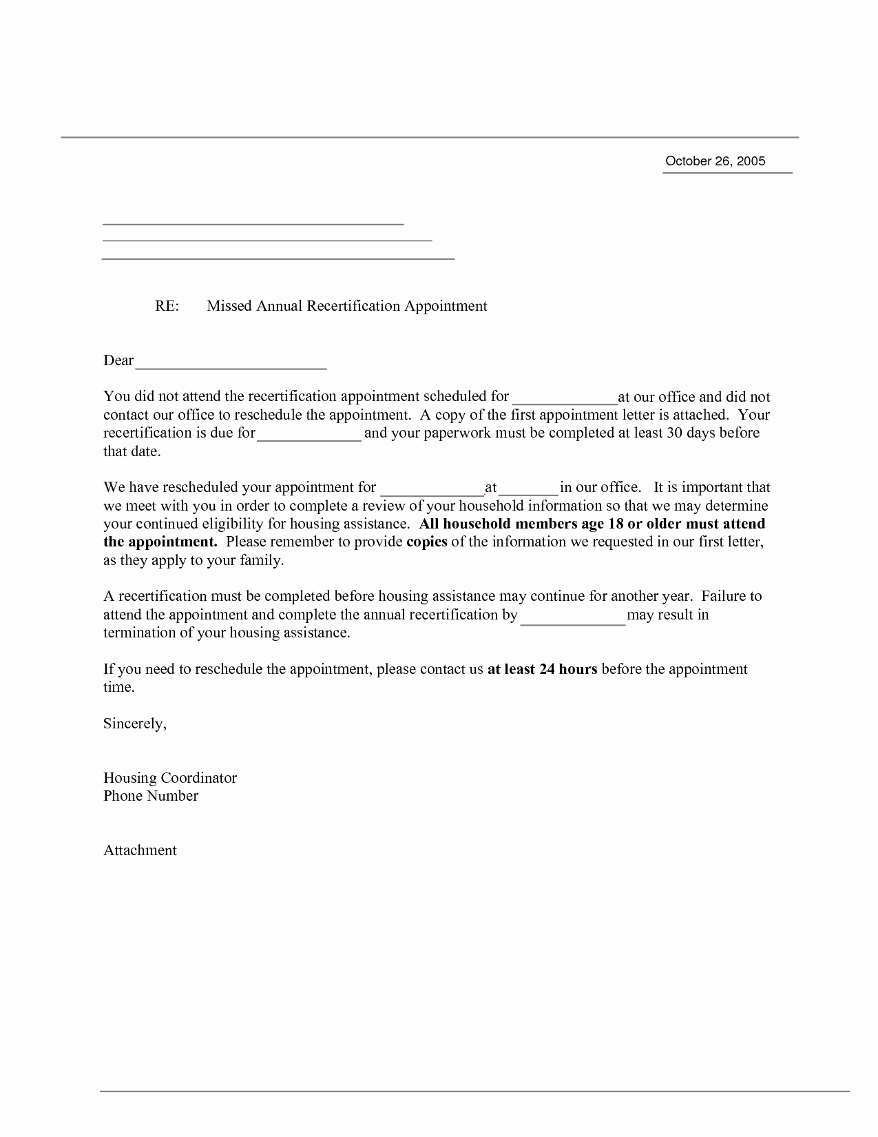 Patient Missed Appointment Letter Template Unique 10 Best Of Doctor Appointment Letter Sample