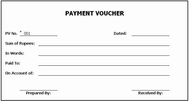 Payment Receipt format Doc New Payment Voucher format Doc