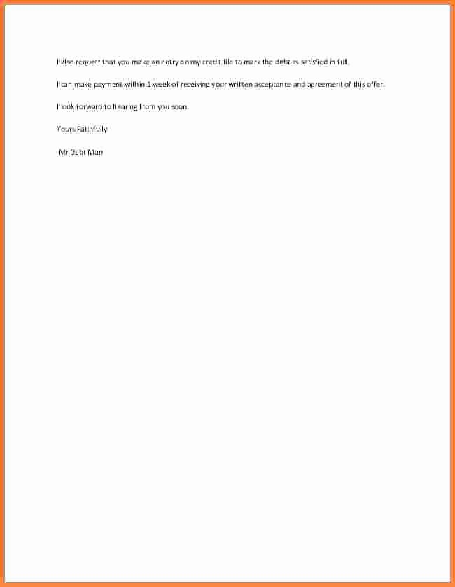Payment Settlement Letter format Beautiful 15 Payment Settlement Letter format Proposal Letter
