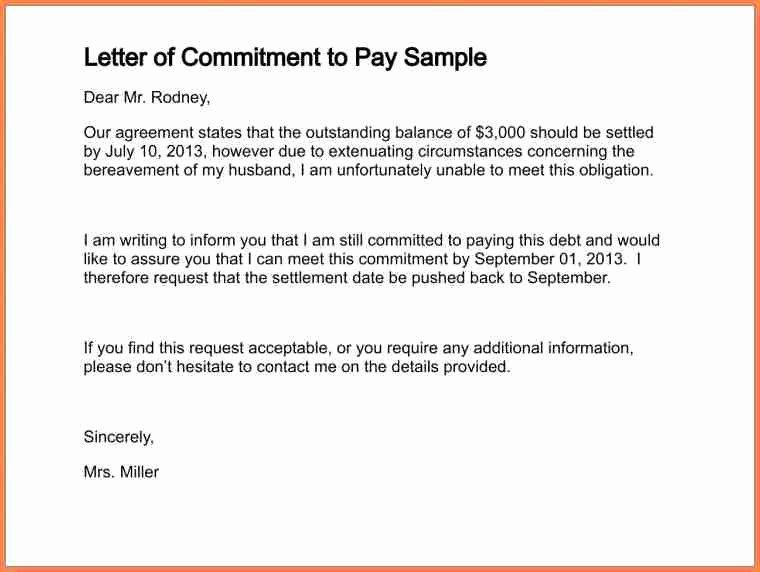 Payment Settlement Letter format Lovely 15 Payment Settlement Letter format