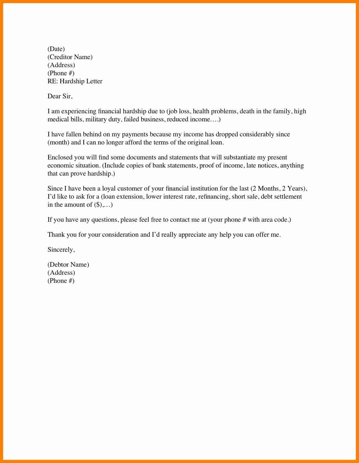 Payment Shock Letter Beautiful Mortgage Payment Shock Letter Template Collection