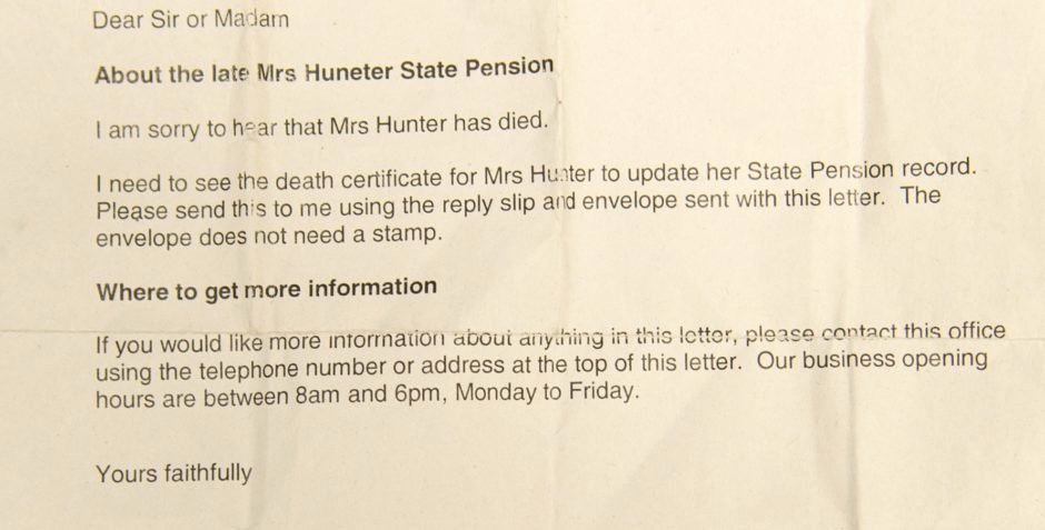 Payment Shock Letter Best Of I Couldn T Believe My Ears Ann S Shock as Dwp Stops