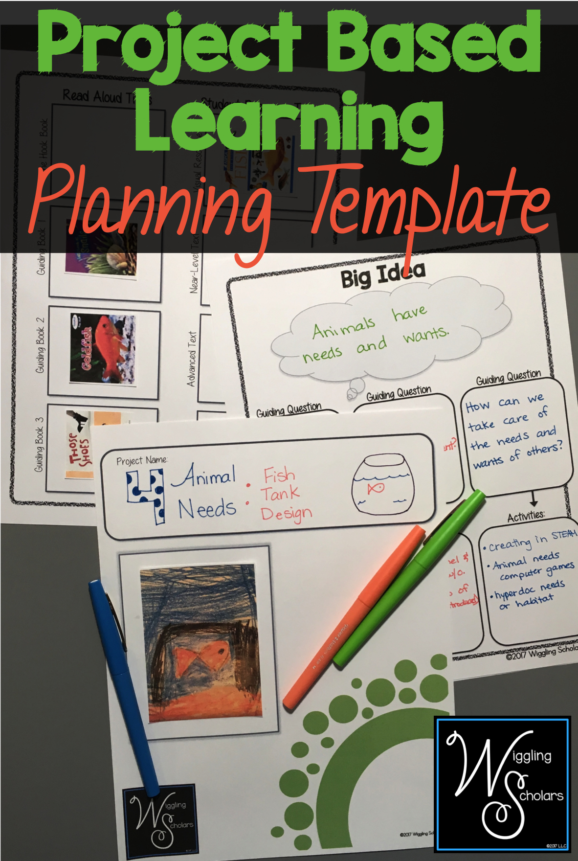 Pbl Lesson Plan Template Unique This Project Based Learning Pbl Template Helps You with