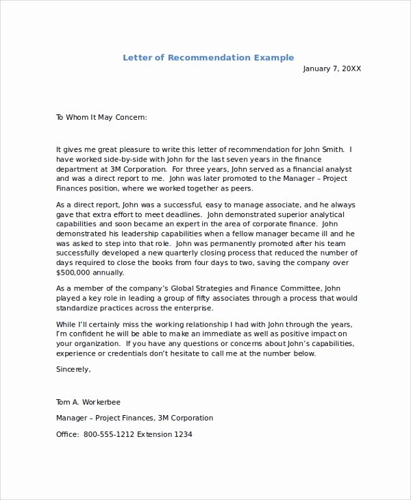 Peer Recommendation Letter Example Best Of How to Write A Peer Letter Of Re Mendation Baret