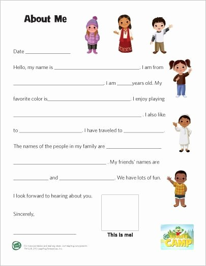 Pen Pal Letter format Awesome Ahg Pen Pal Ideas This Would Be A Great Introduction