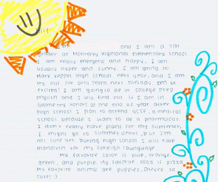 Pen Pal Letter format Awesome Munity Writing Collaborative