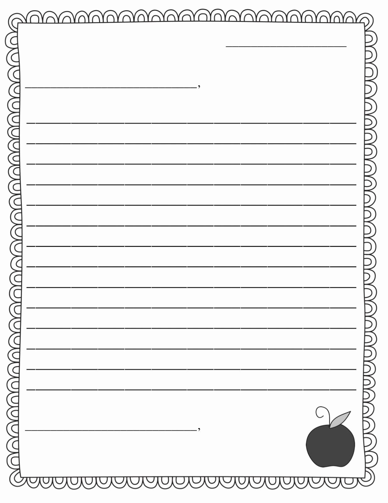 Pen Pal Letter format Best Of Letter Template Ks2 Google Search