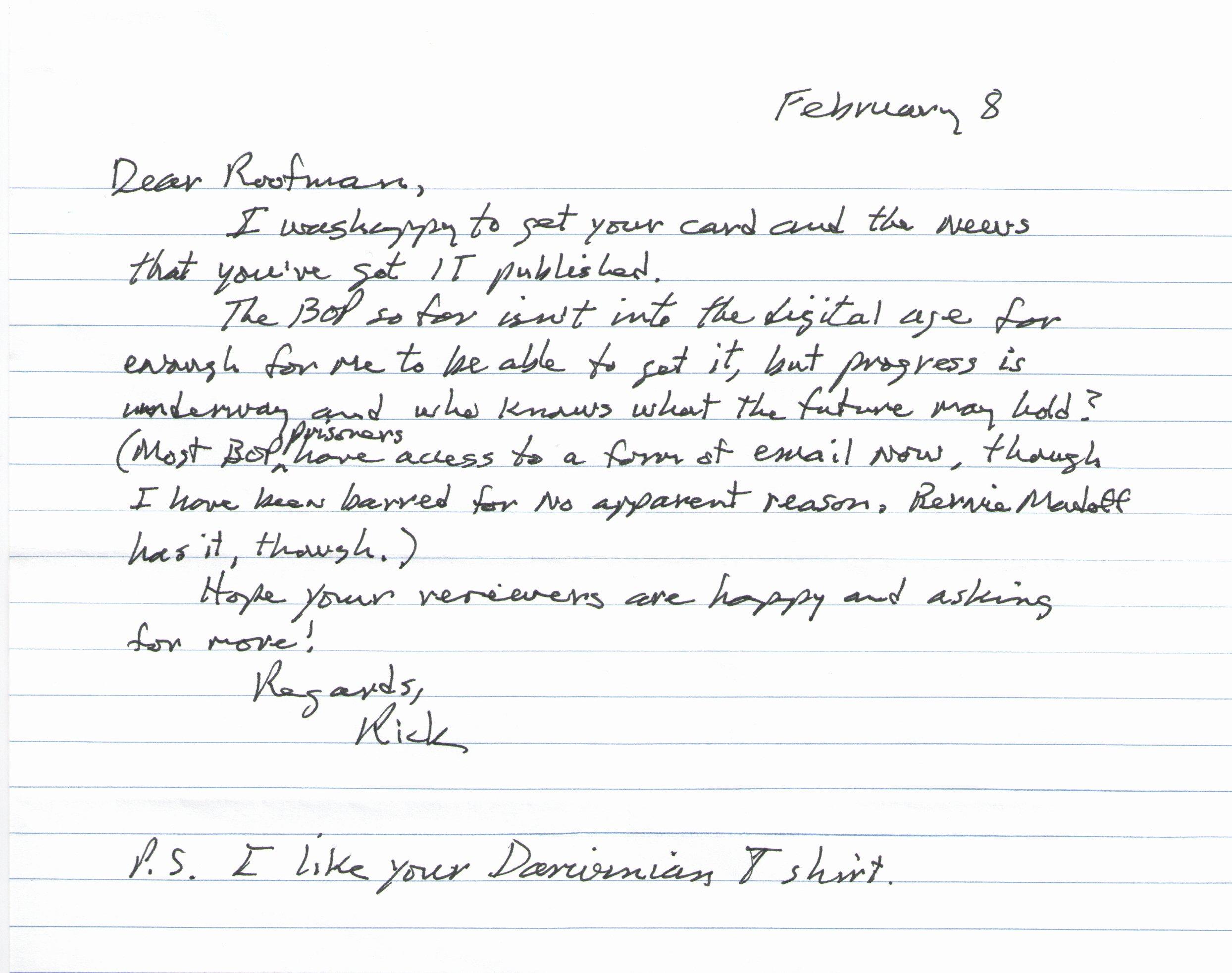 Pen Pal Letter format Luxury Aldrich Ames