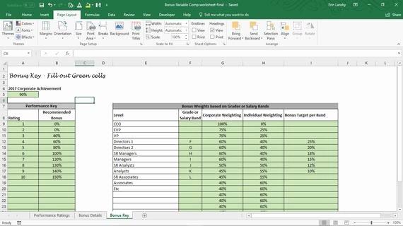 Performance Based Bonus Plan Template New Employee Bonus Excel Template Incentive Plan Calculation