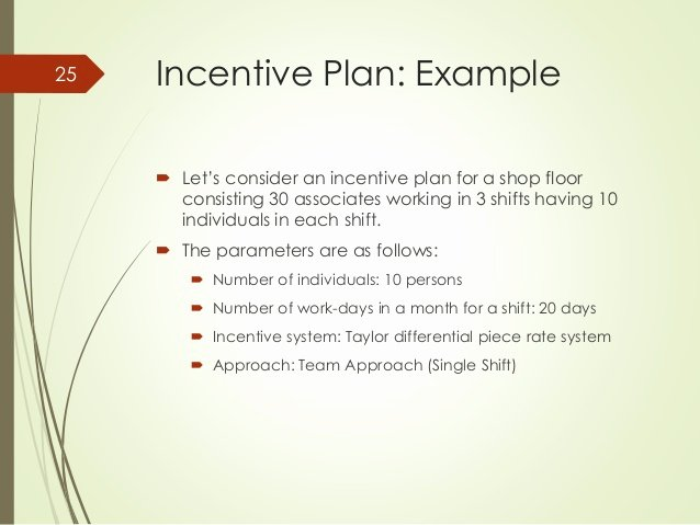 Performance Based Bonus Plan Template Unique How to Design A Universal Incentive System for A