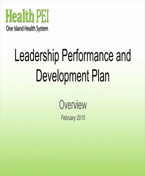 Performance Development Plan Template Beautiful Performance Development Plan Templates 9 Free Word Pdf