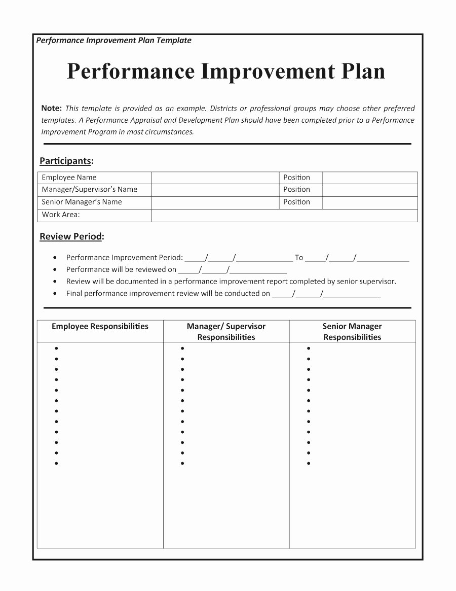 Performance Improvement Plan Template Word Best Of Action Plan Templates Example Mughals