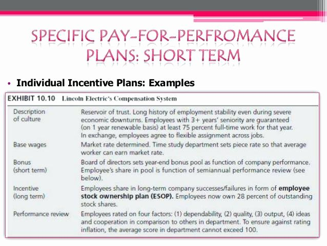 Performance Incentive Plan Template New Sales Mission Plan Examples Sales Mission Plan