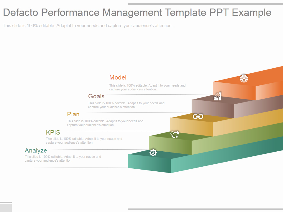 Performance Management Plan Template Lovely Learn to Create 3 D Stairs In Powerpoint [powerpoint