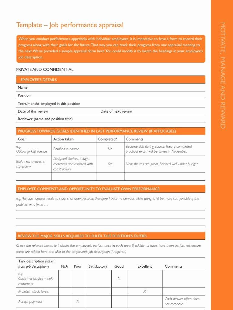 Performance Management Plan Template Luxury Performance Management Plan Template